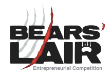 The sixth annual Bears' Lair Entrepreneurial Competition grand finale takes place at The Venue in downtown Peterborough on Tuesday, April 26