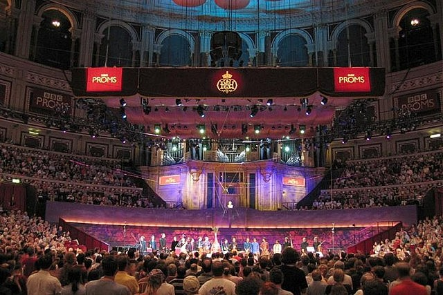 The Proms, more formally known as The BBC Proms, is an eight-week summer season of daily orchestral classical music concerts and other events held annually, predominantly in the Royal Albert Hall in central London, England (photo: Wikipedia)