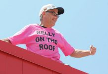 Peterborough journalist Paul Rellinger has been spending a weekend on a roof for charity for the past six years. This year, he's going up on a Thursday afternoon instead, but will still be on the roof for over 48 hours.