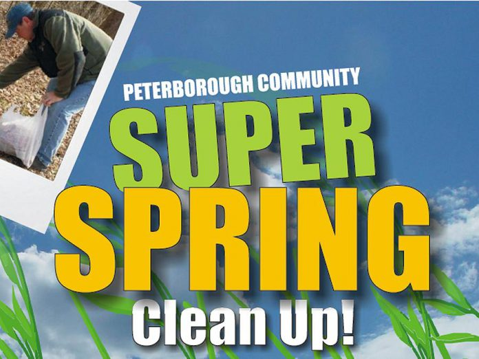 The Rotary Community Super Spring Clean-Up takes place at Confederation Square, Beavermead Park, Morrow Park, Kinsmen Park, Riverview Park and Zoo, Bowers Park, and Rotary Park in Ennismore