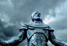 "An unrecognizable Oscar Isaac as Apocalypse, the godlike supermutant who wants to destroy humanity in ""X-Men: Apocalypse"""