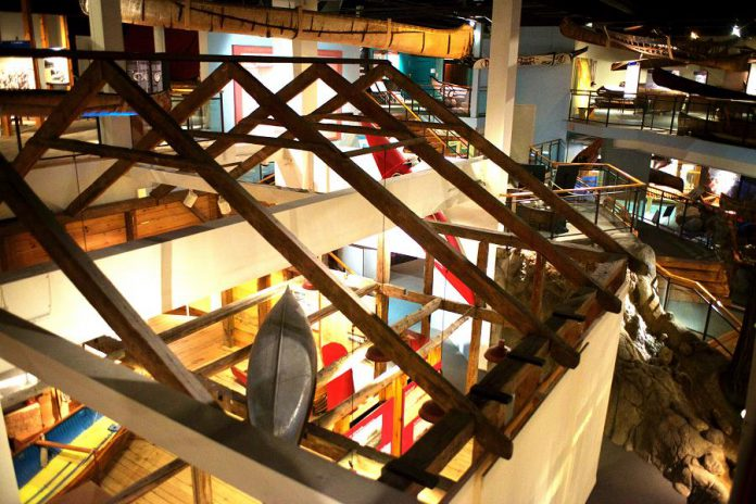 There's a lot more to see and do at The Canadian Canoe Museum in Peterborough than view the exhibits … although you'll also be amazed by the exhibits!