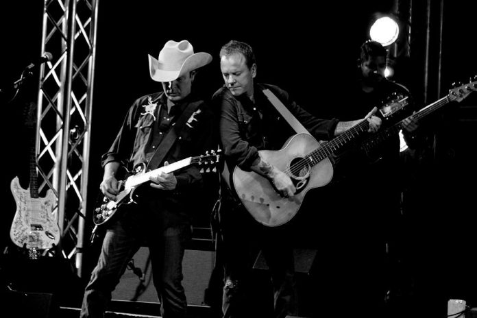 Famous Canadian-born actor Kiefer Sutherland, who has embarked on a career as a country-rock musician with the release of his debut album Down in a Hole, performs at Peterborough Musicfest on Wednesday, June 29 (publicity photo)