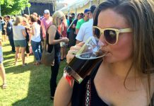 Craft beer fans sampled beverages from 11 Ontario craft breweries and one craft cidery at the Kawartha Craft Beer Festival in Peterborough on June 10 and 11 (photo: Eva Fisher)