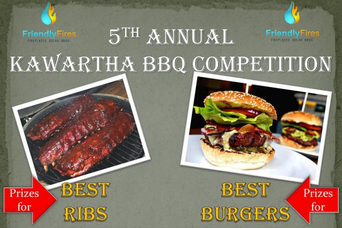 Friendly Fires Kawartha BBQ Challenge happens on Saturday, July 23 (graphic: Friendly Fires)