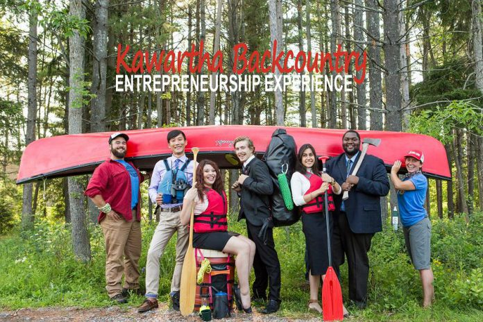 FastStart's Kawartha Backcountry Entrepreneurship Experience program for young entrepreneurs (photo: FastStart Peterborough)