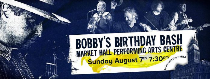 Bobby Watson's 70th Birthday Bash is also a fundraiser for the Peterborough Musicians Benevolent Association (poster: Sean Daniels)