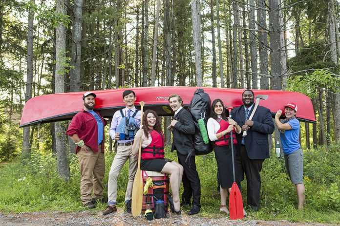 FastStart's Kawartha Backcountry Entrepreneurship Experience is a unique three-day bootcamp for young entrepreneurs that combines classroom learning with wilderness experience (photo: FastStart Peterborough)