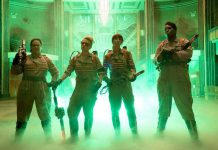 Melissa McCarthy, Kristen Wiig, Kate McKinnon, and Leslie Jones are the all-female Ghostbusters team in this remake of the iconic '80s film in theatres now