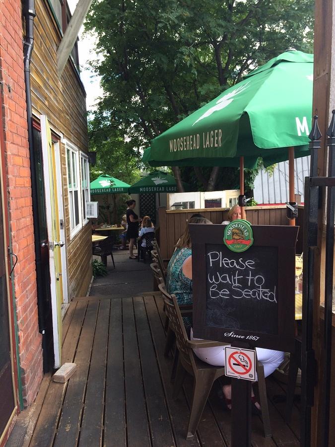 Charlotte Anne's Restaurant (photo: Eva Fisher)