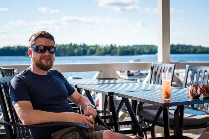 The Kawarthas is home to many picturesque waterfront patios including The Lantern Restaurant and Grill in McCracken's Landing (photo: Alaina Leslie)