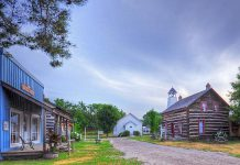 Visit the past at Kawartha Settlers' Village in Bobcaygeon and experience what life was like for pioneers, then return to the present for a family-friendly movie or two, a theatre performance, and some craft beer