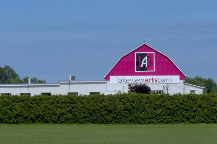 The Lakeview Arts Barn in Bobcaygeon, also known as The LAB, is home to professional theatre company Globus Theatre