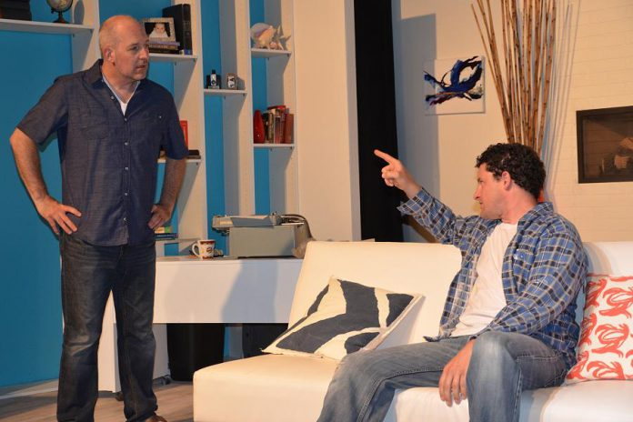 Paul Crough as Kai Greenwood and Kevin O'Neil as his brother Russel