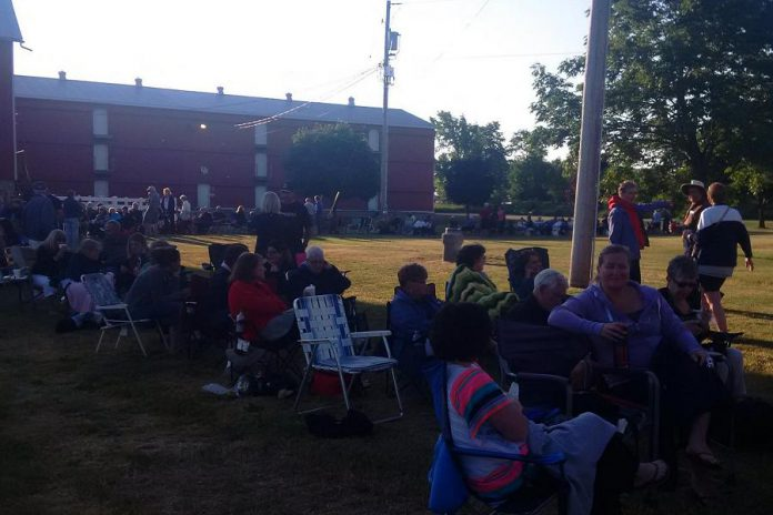 People began lining up early on June 25th to purchase tickets to Ennismore Homestead Theatre's annual summer production; it sold out within hours