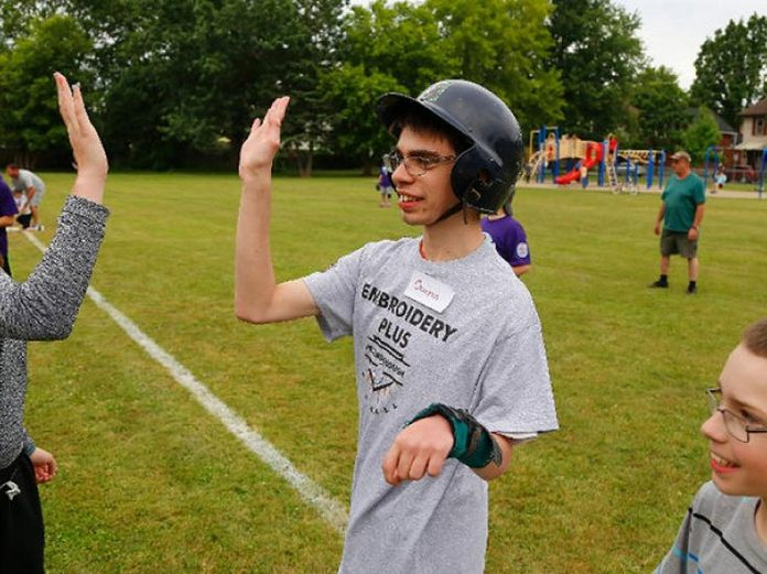 Peterborough Challenger Baseball provides a formalized opportunity for special needs children and youth to participate in the game of baseball