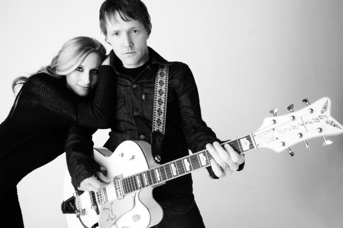 The husband-and-wife duo of Luke Doucet and Melissa McClelland, known as Whitehorse, perform a free concert at Peterborough Musicfest on Wednesday, July 27 (publicity photo)