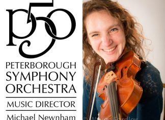 The Peterborough Symphony Orchestra is holding auditions in September for volunteer musicians who wish to perform during its 2016-17 season. Pictured is violinist Jana Farell. (Photo: Wayne Eardley)