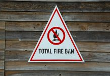 Total fire bans have been implemented for North Hastings, the City of Kawartha Lakes, North Kawartha and most of Peterborough County.