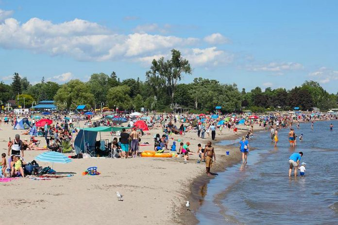 A view of Victoria Beach on Lake Ontario in Cobourg. (Photo courtesy of Linda McIlwain)