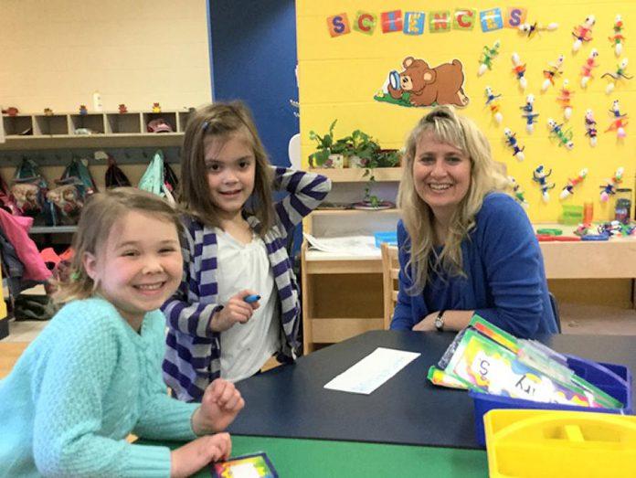 Sylvie Copland of St. Catherine Catholic Elementary School in Peterborough has won the 10th Annual Canadian Family Teacher Award (photo: canadianfamily.ca)