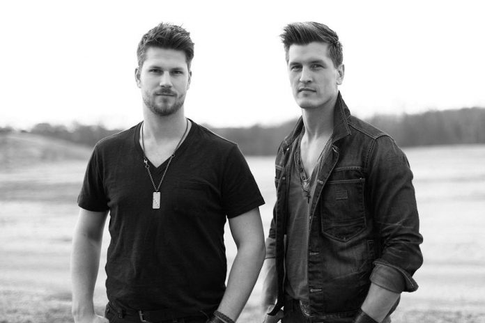 New country band High Valley, with brothers Curtis and Brad Rempel, perform on August 24 at the final concert of Peterborough Musicfest's 2016 season