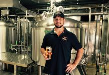 Brewmaster and owner of the Bancroft Brewing Company Logan Krupa is looking forward to expanding operations with a new seven hectalitre brewing system. (Photo: The Bancroft Brewing Company)