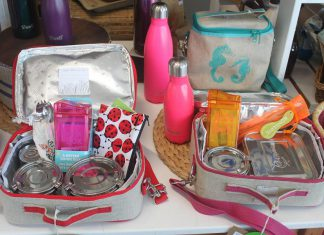 Help divert waste from landfills with litterless lunches. You can build your own litterless lunch kit by visiting the GreenUP store in Peterborough. (Photo: GreenUP)
