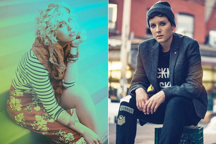It's a Canadian pop music double bill on August 10th as Jocelyn Alice and Ria Mae perform a free concert at Peterborough Musicfest