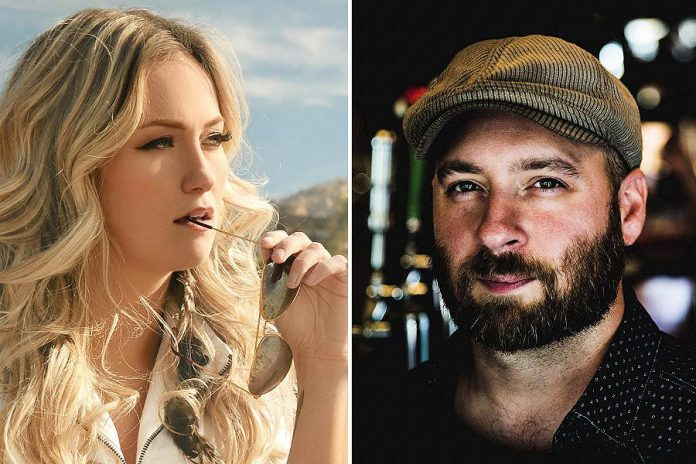 Country singer Meghan Patrick headlines Peterborough Musicfest in Del Crary Park on August 3. Peterborough-based MacArthur Clark (fronted by Travis Berlenbach, pictured) is opening.