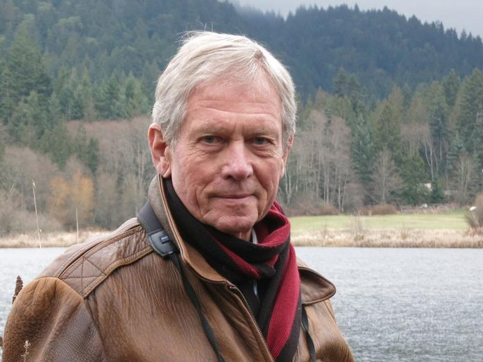 Robert Bateman is acclaimed as a wildlife artist and a naturalist. Among many other honours, Bateman is an officer of the Order of Canada and was named one of the top 100 environmental proponents of the 20th century by the Audubon Society of Canada. (Photo: Acadia University)