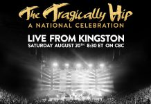CBC is broadcasting The Tragically Hip's final concert live from Kingston on Saturday, August 20th, at 8:30 p.m. and several locations in The Kawarthas are hosting public viewing parties