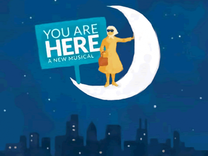 You are Here, produced in association with Toronto's Acting Up Stage Company, will also run at Toronto's Berkeley Street Theatre in spring 2017