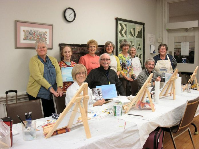 Exercise your creative muscles at Activity Haven this fall by signing up for one of the many arts instruction programs available (photo courtesy Activity Haven Seniors Centre)