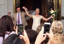 BlushDrop is an award-winning online service that produces a professionaly edited wedding video using video clips uploaded by wedding guests (photo: BlushDrop)