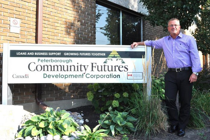 Jeff Day is the new Executive Director of Community Futures Peterborough, a not-for-profit organization that provides federally funded loans to small and medium-sized businesses.