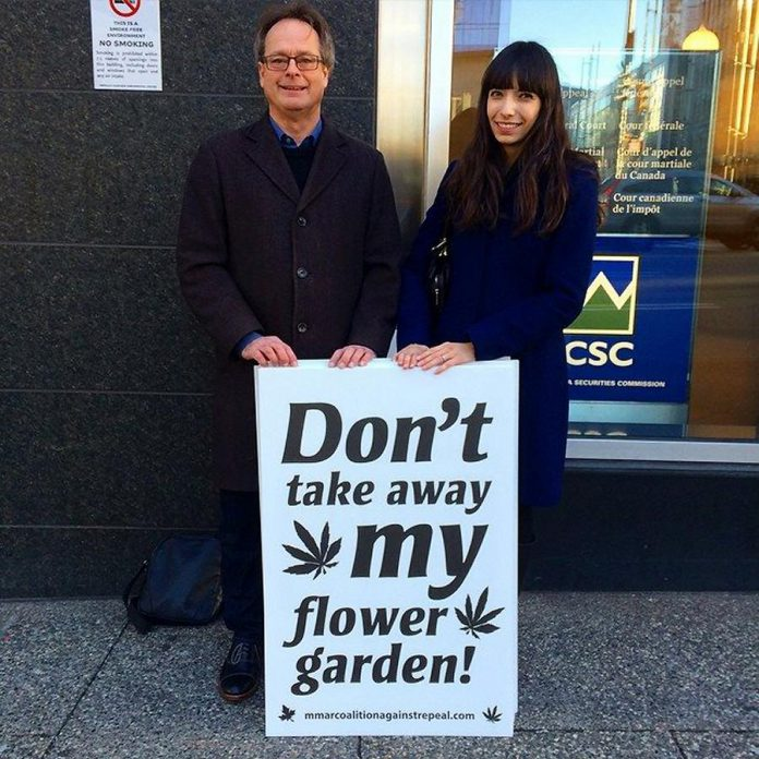 Cannabist activist Marc Emery, shown here with his wife Jodie, will be in Peterborough on September 17 to protest the arrest of Richard Standen, who recently opened a Cannabis Culture store in downtown Peterborough (photo: Marc Emery / Facebook)