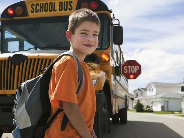 Hundreds of school buses will be back on the roads for the first day of school, so give yourself extra time when driving to work (photo: Ontario School Bus Association)