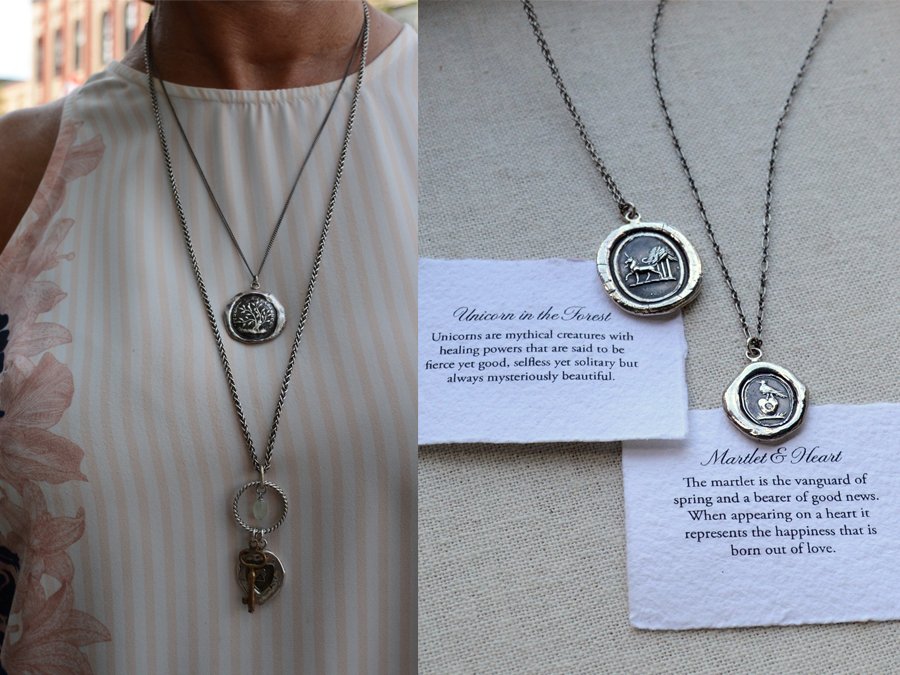 Pyrrha jewellery is molded from weathered and cracked wax seals from the 19th century. The Vancouver artisans use eco-friendly 100% reclaimed precious metals. (Photo: Eva Fisher)