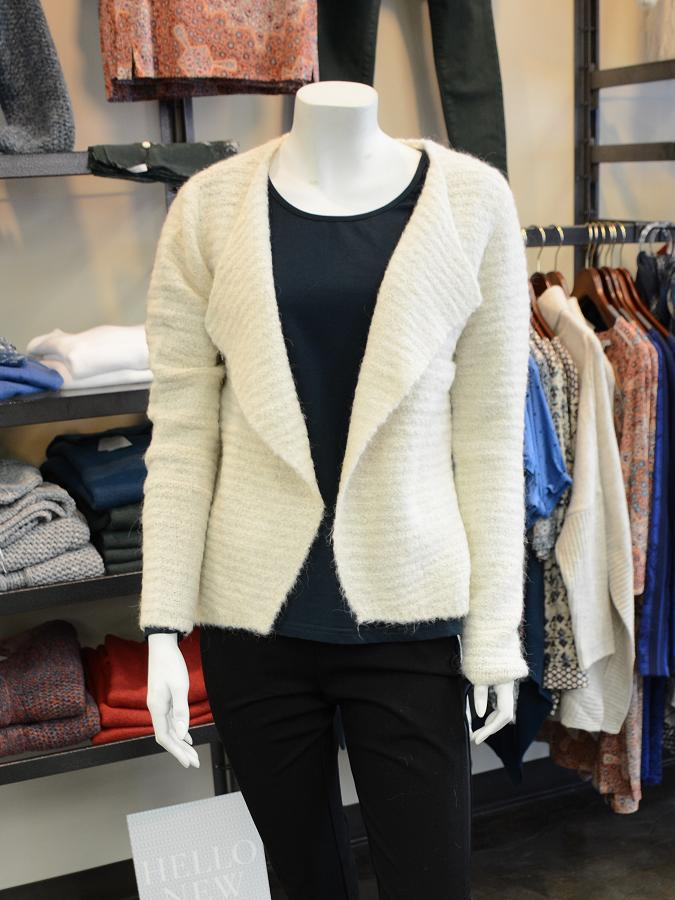 """This alpaca blend """"swazer"""" by Sandwich is a polished and versatile option that can be dressed up or down. (Photo: Eva Fisher)"""