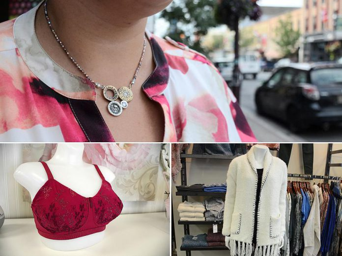 We're profiling some of the best independent jewellery from Hi Ho Silver, finding a bra that actually fits with My Left Breast, and embracing sweater weather with John Roberts Clothiers.