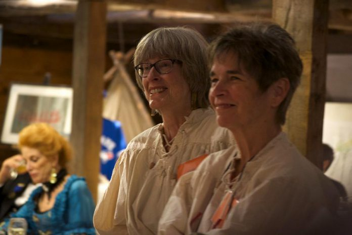 Beaver Club Gala volunteers helped make the event a success. It raised over $130,000 to support the museum's programming.