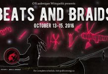 Beats and Braids takes place from October 13 to 15 at various venues in Peterborough (image: O'Kaadenigan Wiingashk Collective)
