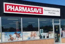 Pharmasave Havelock Community Pharmacy is located on Highway 7 at 16 Ottawa Street in Havelock (supplied photo)