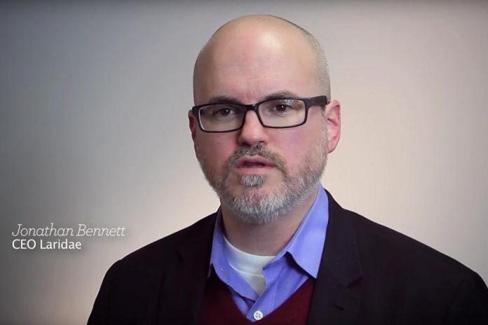 Jonathan Bennett, CEO of Laridae Communications Inc. (photo: Laridae Communications Inc. / YouTube)