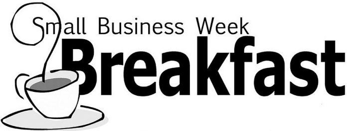 Lindsay and District Chamber is hosting a Small Business Week breakfast on October 19 at the Lindsay Golf and Country Club (supplied graphic)