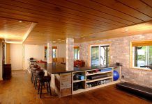 A cottage basement renovation completed by Spotlight Home & Lifestyle (photo: Spotlight Home & Lifestyle)