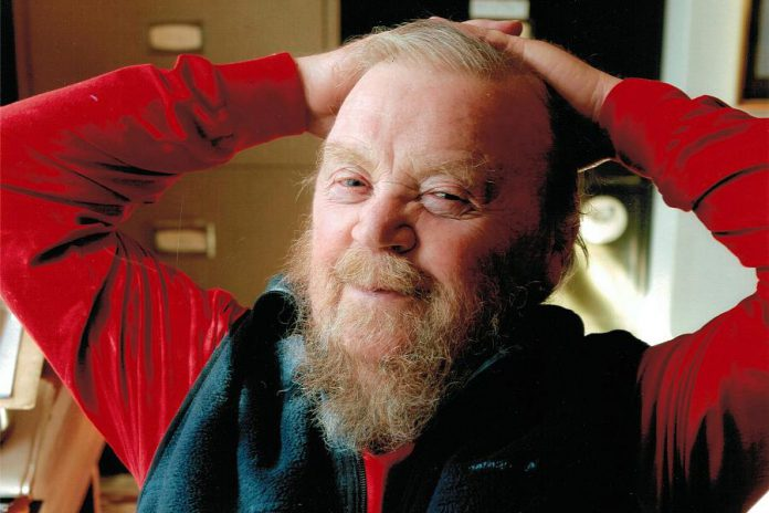 Author and environmentalist Farley Mowat died in Port Hope in 2014 at the age of 92 (family photo)
