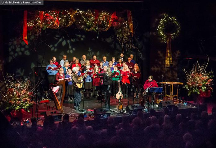 The annual In From The Cold Christmas concert, which takes place this year on December 9 and 10, raises funds for Peterborough's YES Shelter for Youth and Families (photo: Linda McIlwain / kawarthaNOW)