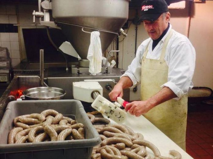 Franz's Butcher Shop & Catering makes a variety of sausages including traditional German varieties. (Photo:  Franz's Butcher Shop & Catering)